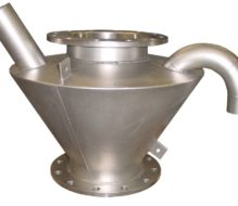 Stainless steel hopper system