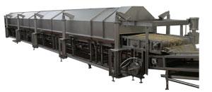 High volume conveyor oven