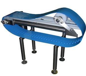 quality control flip clean conveyor